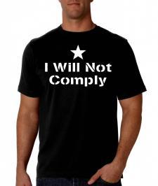 I will not tee shirt
