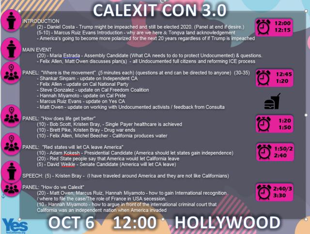 Calexit 6OCT